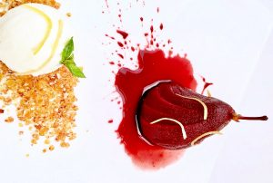 Artusi Italian Food Restaurant in Delhi and Gurgaon Dessert Pears